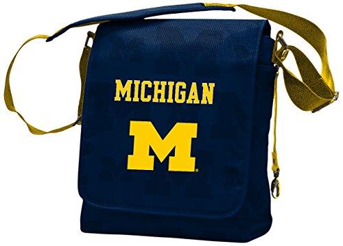 Messenger Michigan (NCAA College Michigan Wolverines Messenger Diaper Bag, 13.25 x 12.25 x 5.75-Inch, Blue)