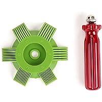 Universal Plastic Car A/C Radiador Condensador Evaporador Aleta