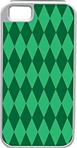 Blueberry For SamSung Galaxy S4 Mini Case Cover Diamond Pattern Forest Green and Light Green - Ideal Gift