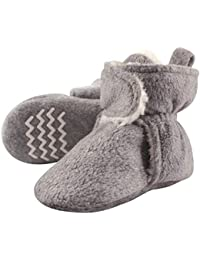 Unisex Cozy Fleece and Sherpa Booties