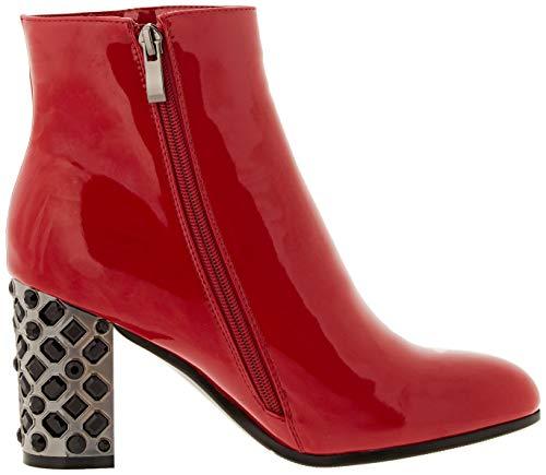 Rojo Laura red 5138 14 bm Botines Mujer Para Biagiotti xTAHa