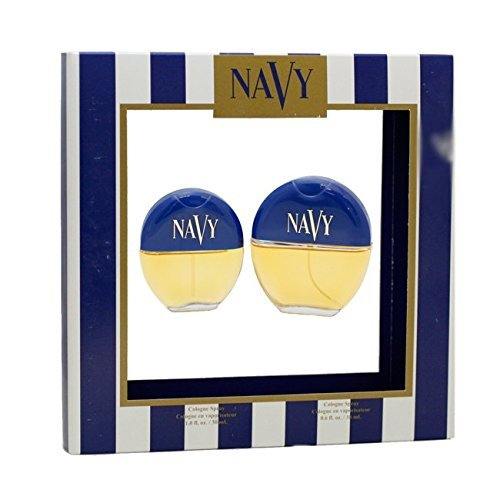 - Navy By Dana For Women. Gift Set ( Cologne Spray 1.0 Oz + Cologne Spray 0.6 Oz).