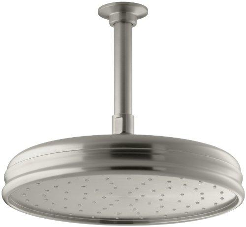 K 13693 BN 10 Inch Traditional Showerhead Vibrant