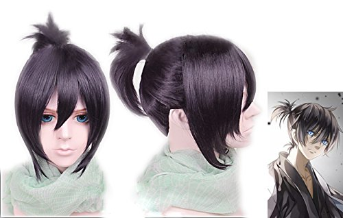 [Yato Yaboku Wig Noragami Cosplay Costume Wig Hair Accessories Xcoser] (Yato Cosplay Costume)