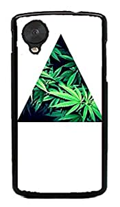 weed hipter quote Hard Case for Google Nexus 5 LG ( Flower Flowering Rose )