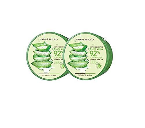 Nature Republic New Soothing & Moisture Aloe Vera 92% Gel, 1