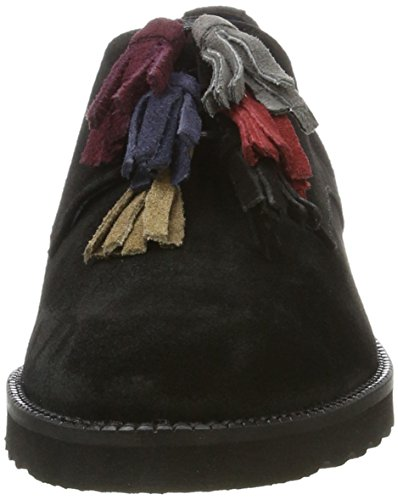 Black Zapatos BLU Multi Di Mary de Pinto para Oxford Cordones Negro Mujer 01 vRTqaxp