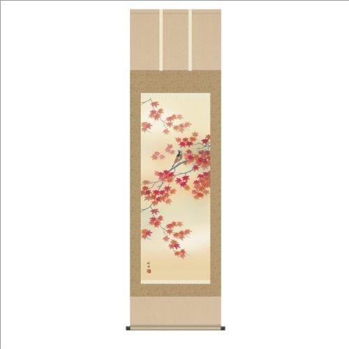 四季花鳥(単品) 【洛彩緞子本表装】鮎に翡翠 B003YUJ7XE 鮎に翡翠 鮎に翡翠