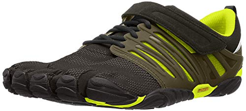 Vibram Five Fingers Men's V-Train Fitness Shoe (41 EU/8.5-9, Black/Green)