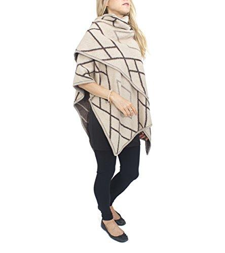jessica-mcclintock-diamond-cape-ruana-wrap-shawl-pashmina-poncho-camel