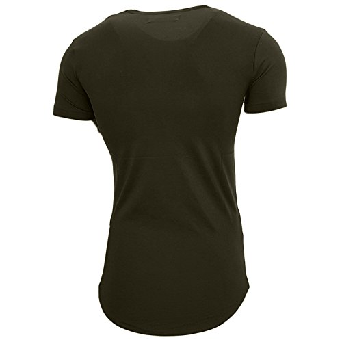 Rusty Neal Herren T-Shirts T-Shirt grün kaki XX-Large