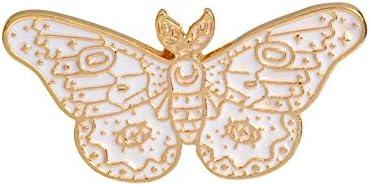 アニマルストーリー!かなりかわいいイーグル蝶蜂鳥アニマルブローチアニマルピンコレクションハードエナメルジュエリー