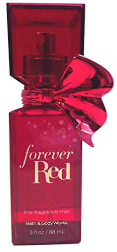 Bath and Body Works Forever Red Fine Fragrance Mist 3 Ounce Travel Size Rare