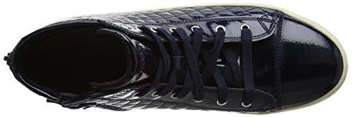 Collo Blu Alto F Navy a Kalispera Adulto Geox J Sneaker Unisex wnqxX4z4C