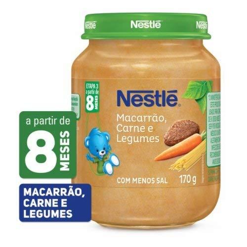 Papinha Nestle Macar/Carne/Legu170G
