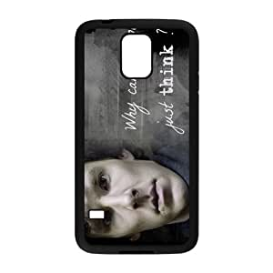 Warm-Dog Sherlock Holmes Quotes Cell Phone Case for Samsung Galaxy S5