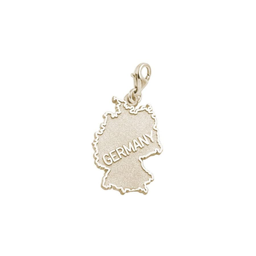 Rembrandt Charms Germany Charm with Lobster Clasp, 10K Yellow Gold