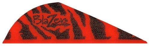 Bohning Blazer Vane (Pack of 36), Red Tiger