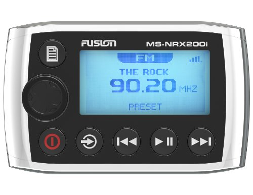 Fusion Wired Remote (Fusion MS-NRX200i Marine Wired Remote for MS-IP700i, MS-AV700i and MS-RA205)