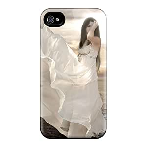 QQcase Perfect Tpu Case For Iphone 4/4s/ Anti-scratch Protector Case (fantasy Girl 10)