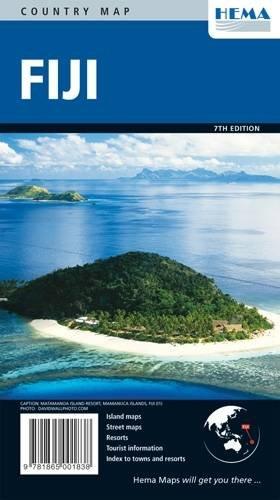 Fiji Map HEMA 1:625K