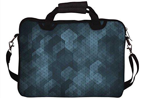 Snoogg Laptop Netbook Computer-Tablette PC -Schulter-Kasten -tragender Hülsen- Beutel-Beutel- Abdeckungs-Schutz- Halter für Apple iPad / Hp Touchpad Mini 210 T100 PS Touchpad Mini t100ta / Acer Aspire 1M02JZeFa