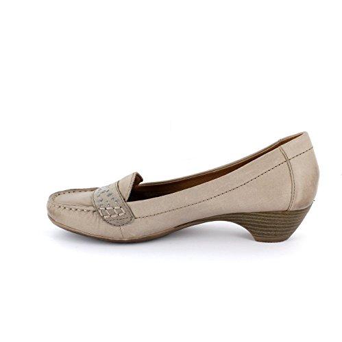 Jana 8-8-22306-24-324 - Zapatos de vestir de Piel para mujer Beige beige 37.5 Pepper