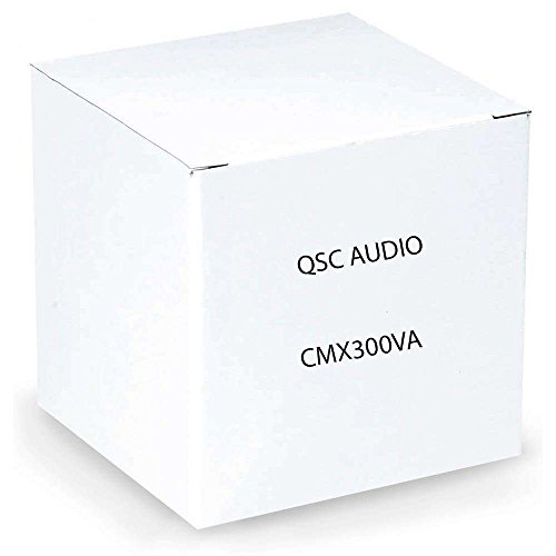 QSC CMX300V 2-Ch Low Imp./ 70V Contractor Power Amplifier by QSC Audio