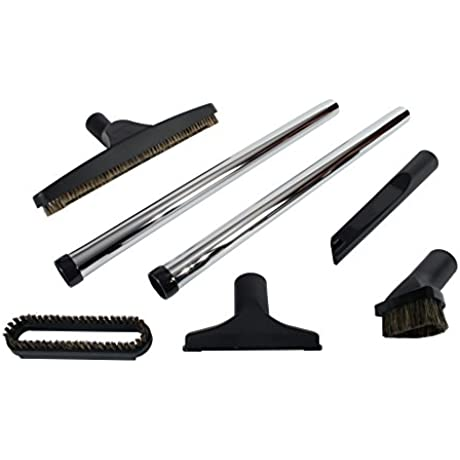 Cen Tec Systems 91420 Seven Piece Deluxe Vacuum Accessory Kit With Metal Wands