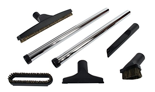 Cen-Tec Systems 91420 Seven Piece Deluxe Vacuum Accessory Kit with Metal (Metal Central Vacuum)