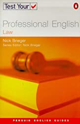 Test Your Professional English: Law (Penguin English Guides)