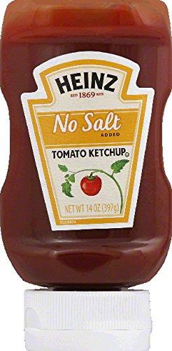 Ketchup No Salt 14 Ounces (Case of 6)