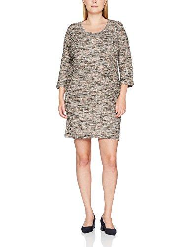 09b5a1dc7fe SAMOON Damen Kleid Easy To Love Braun (Brownie Gemustert 7007) Oo7HnwSy