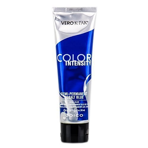 Joico Vero K-Pak Intensity Semi Permanent Hair Color, Cobalt Blue (Best Demi Permanent Purple Hair Color)