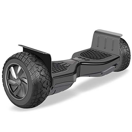 """VEEKO Hoverboard Two-wheel Self-balancing Scooter 8.5""""All-Terrain Off-Road Hover Board,Alloy Wheels,250W Dual Motor for 15Km/hr Max Speed and 264lbs Max Weight"""