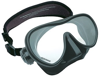 Oceanic Shadow and Mini Shadow Frameless Extremely Low Volume Design Scuba Mask for Divers Snorkeling Scuba Dive