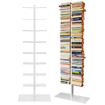 Radius Bücherregal Booksbaum Double Stand Gross Weiß 3tlg Best