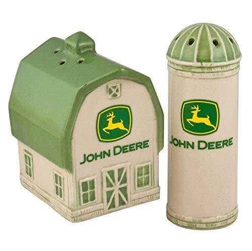 John Deere Logo Barn & Silo Salt/Pepper Set
