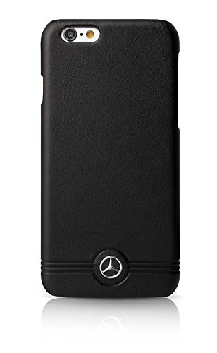Mercedes Pure Line Collection Front Grill Leather Hard Case for iPhone 6/6S - 4.7