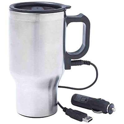 Maxam 16oz Stainless Steel Heating Mug