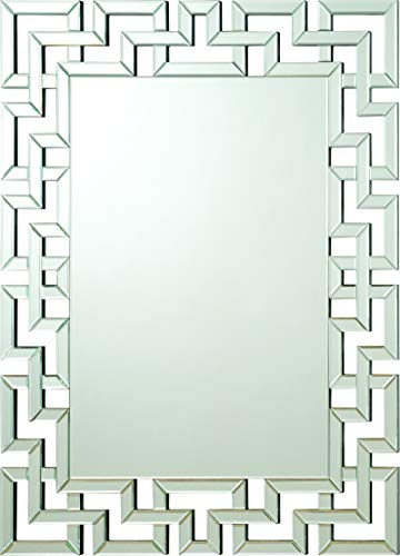 Coaster Home Furnishings Interlocking Frameless Wall Mirror (Home Wall Mirrors)