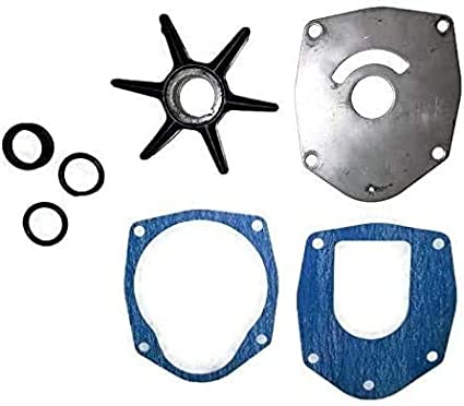 Water Pump Kit Compatible with Mercury 40 45 50 60 75 90 120 HP BigFoot Engines Replaces Sierra 18-3214 Replaces Mercury 47-43026Q06 and 8M0100526