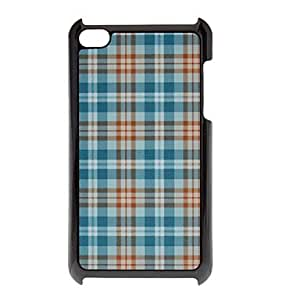 Shimmering Blue Grid Pattern Hard Case for iPod touch 4