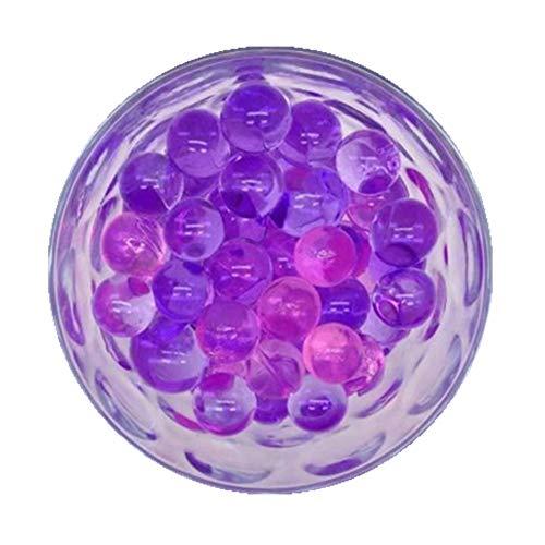(4000 Pcs Crystal Soil Water Beads Growing Magic Jelly Balls Bio Gel Wedding Casamento Vase Fillers (Purple))