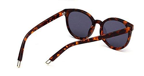 vintage Morceau de lunettes retro en B cercle de Lennon Noir polarisées style inspirées du métallique soleil rond Frêne w0dqrwO