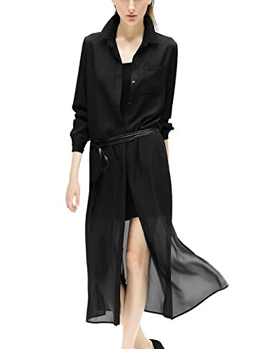 Punta de botón de pantalones de deporte para mujer cuello camiseta de manga corta w para túnicas de chica cerrada de chifón de riñonera con sistema de cordaje de tripa natural para negro