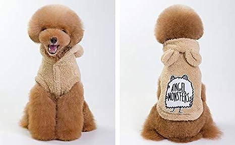 PZSSXDZW Otoño e Invierno Ropa para Mascotas Angel Lindo Oso Polar ...