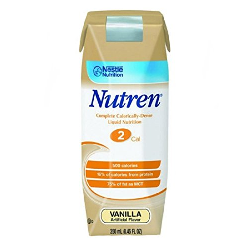 Boost Original Complete Nutritional Drink Vanilla Delight: Nutren 2.0 Oral Supplement / Tube Feeding 250 ML Vanilla