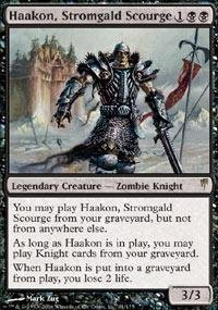 Magic: the Gathering - Haakon, Stromgald Scourge - Coldsnap