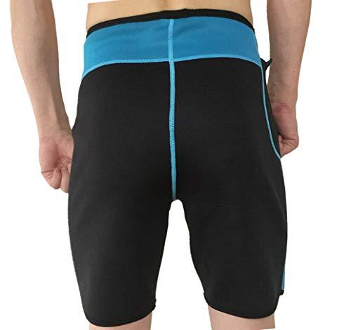 Per Adatta Body pantaloncini I Sauna Yoga Novecasa Sudare Canotta Neoprene Pantaloncini Bruciare Ginnastica Uomo Pantaloni Grassi Suana Fitness Shaper vXIqXFfwH
